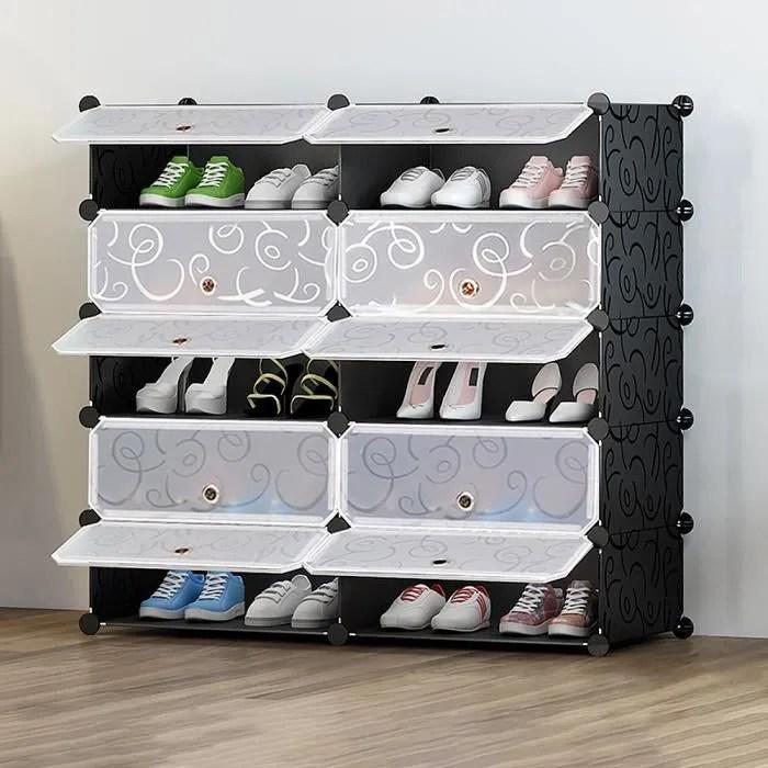 meuble de rangement 10 cubes pour decoration jouet veste enfant armoire penderie modulable meuble rangement chambre enfants