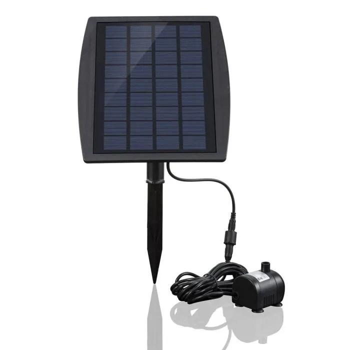 pompe a eau solaire 5w pompe de bassin alimentee a