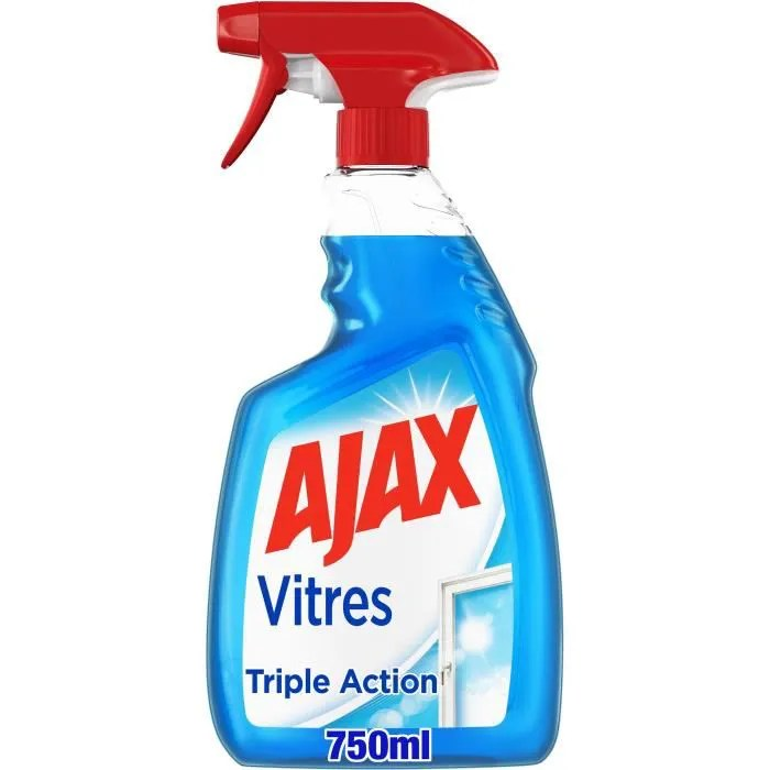 ajax produit nettoyant vitres triple action spray