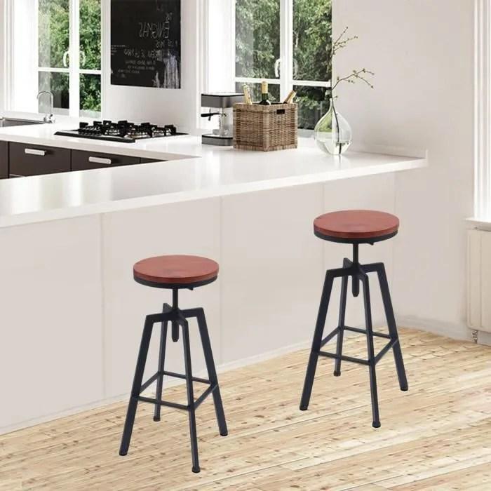 chaises table haute cuisine
