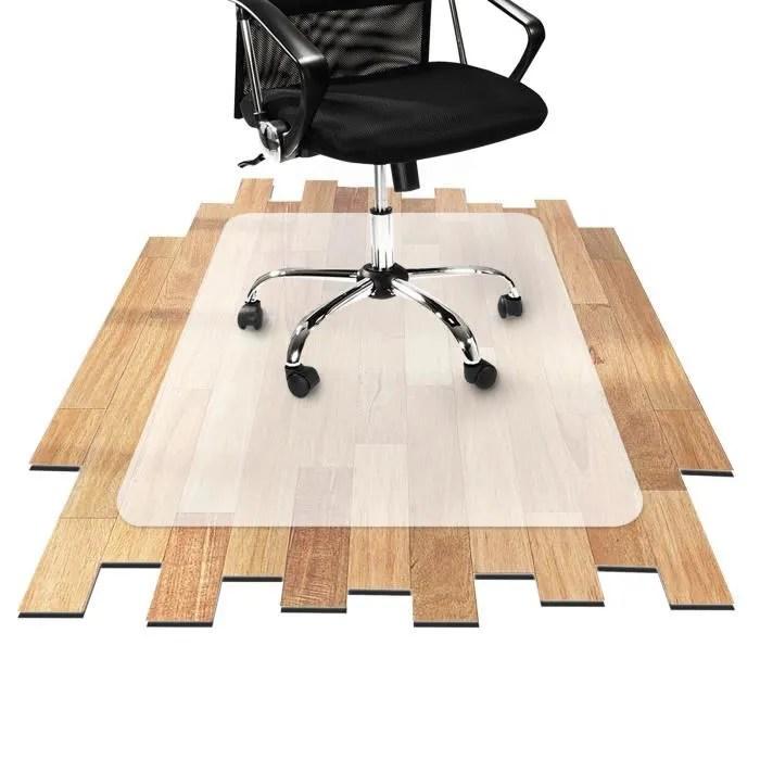 tapis protection bureau 90x120 cm protege sol