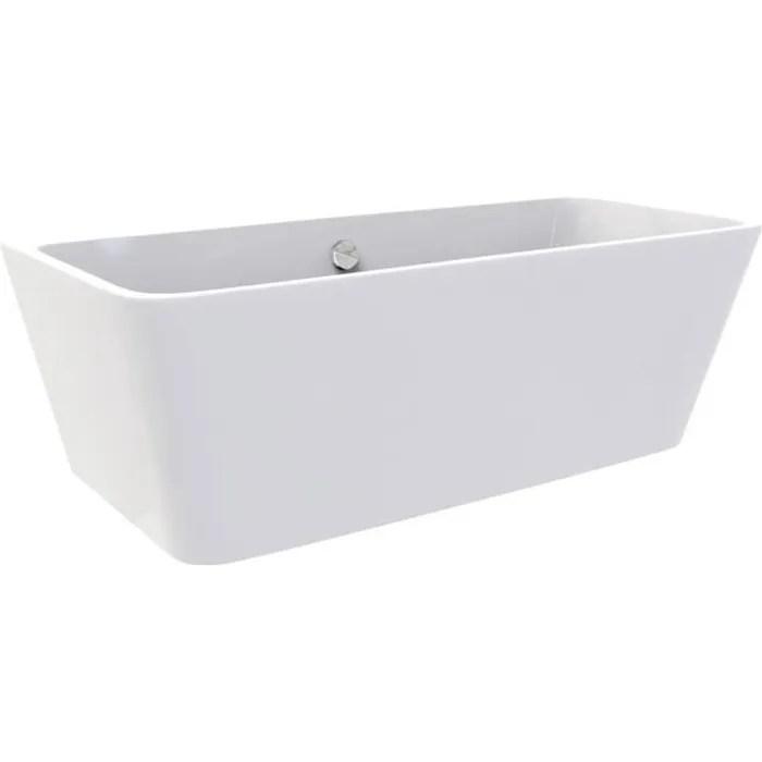 malmo baignoire ilot rectangulaire 150 x 75 cm