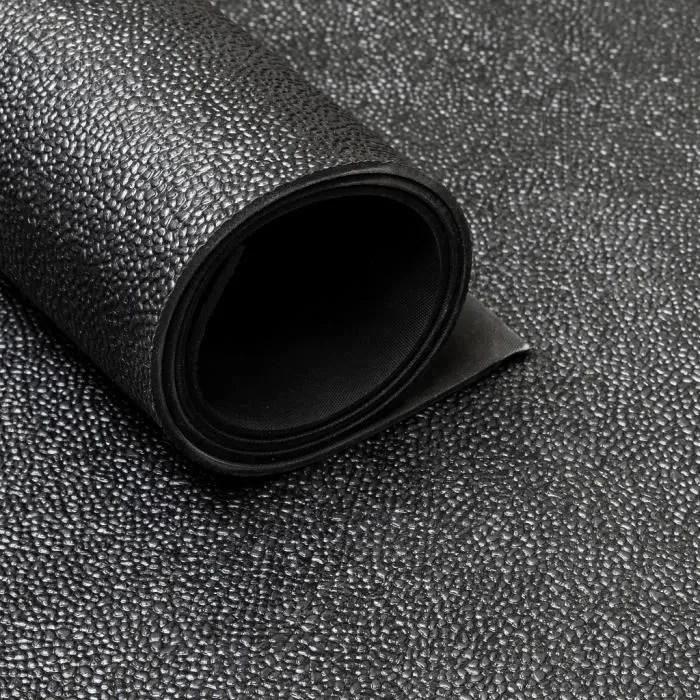 tapis caoutchouc martele 3 mm largeur 150 cm pa