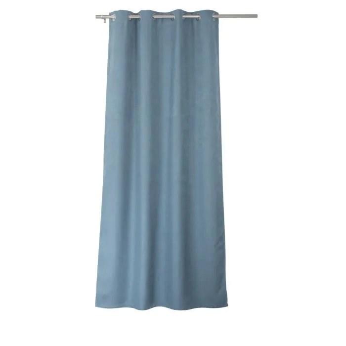 rideau occultant floppy 140 x 240 cm coloris bleu