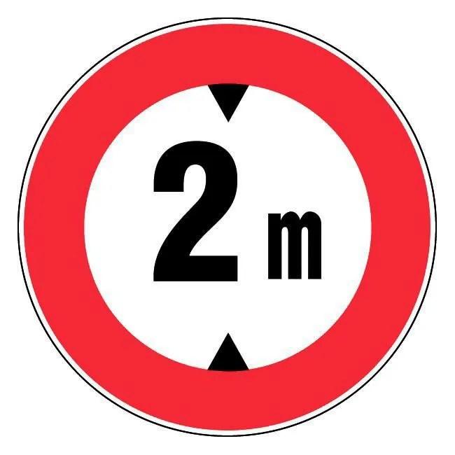 panneau rigide 2m