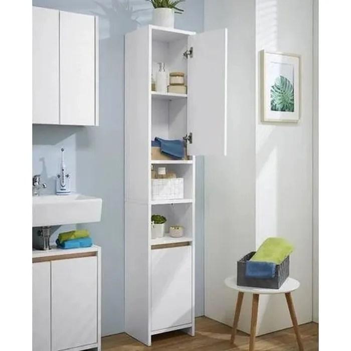 meuble colonne salle de bain largeur 30 hauteur 190