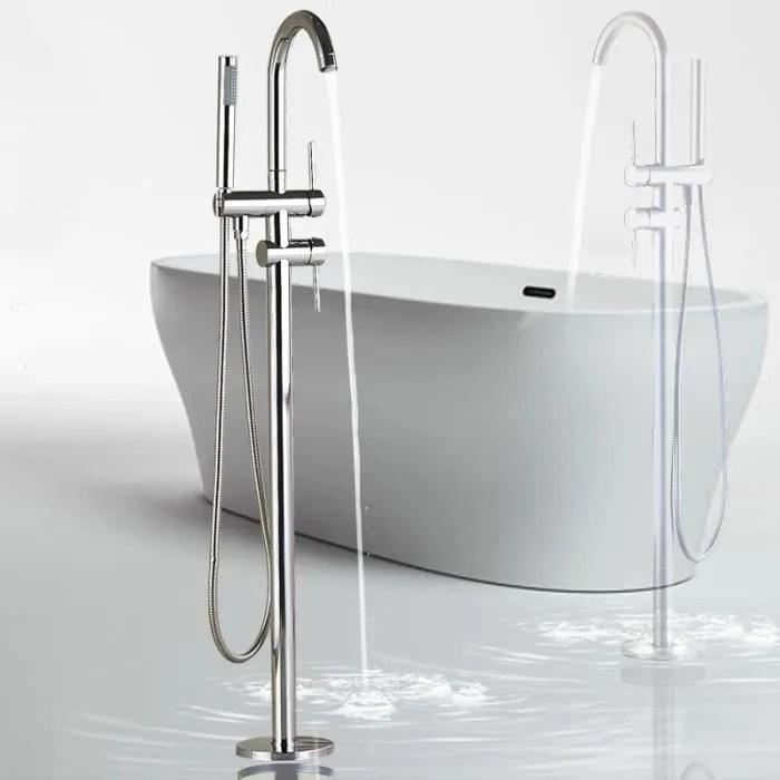 robinet de baignoire ilot