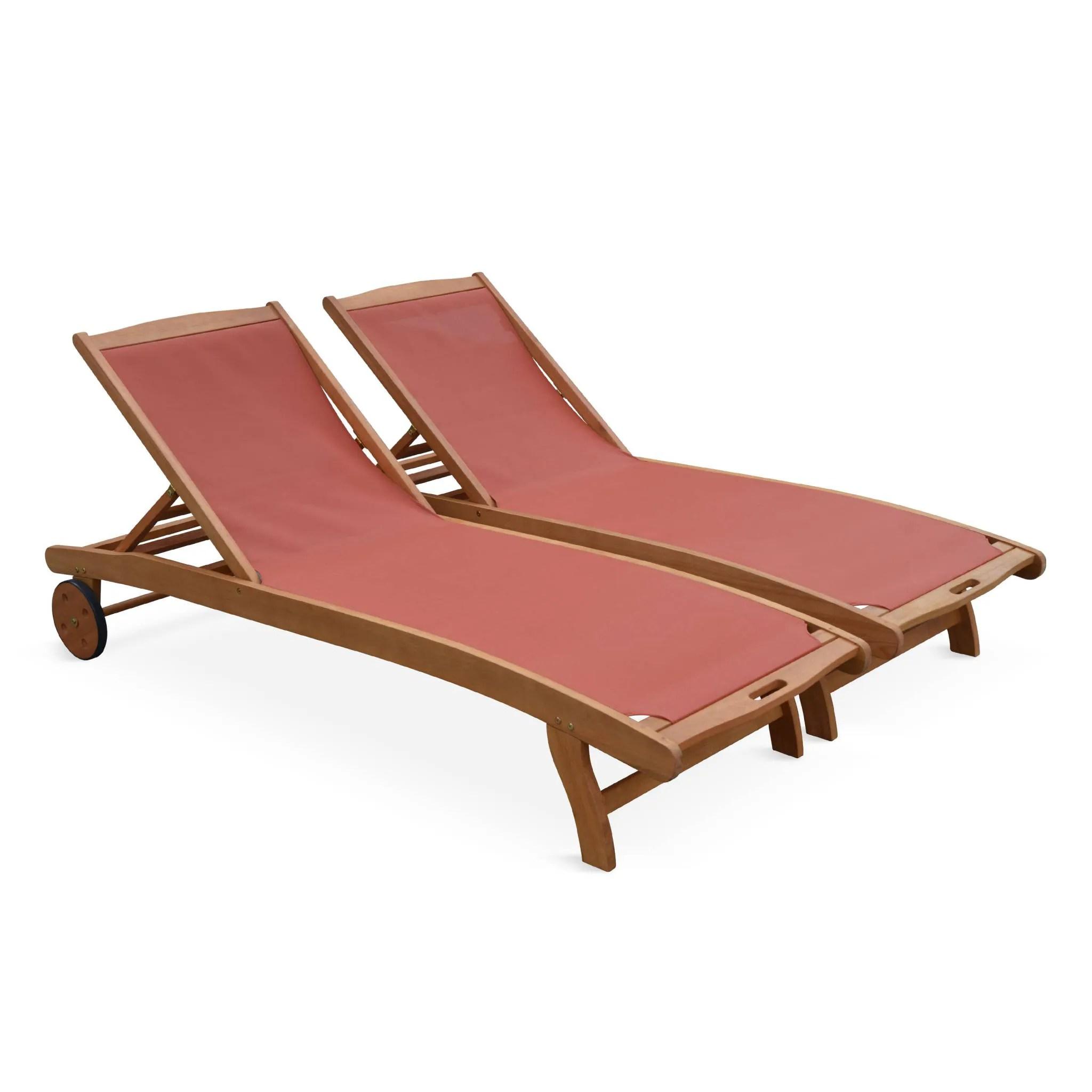 bains de soleil en bois marbella