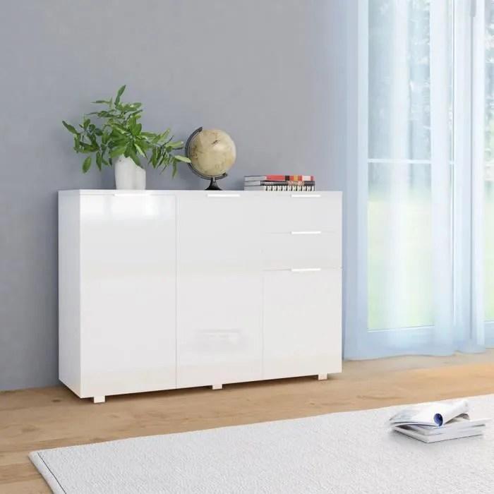 buffet contemporain moderne meuble bas rangementbl
