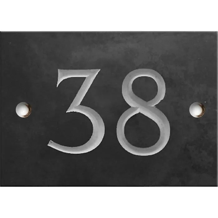 numero de rue personnalise 1 a 2 chiffres plaque