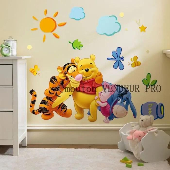 sticker mural enfant winnie