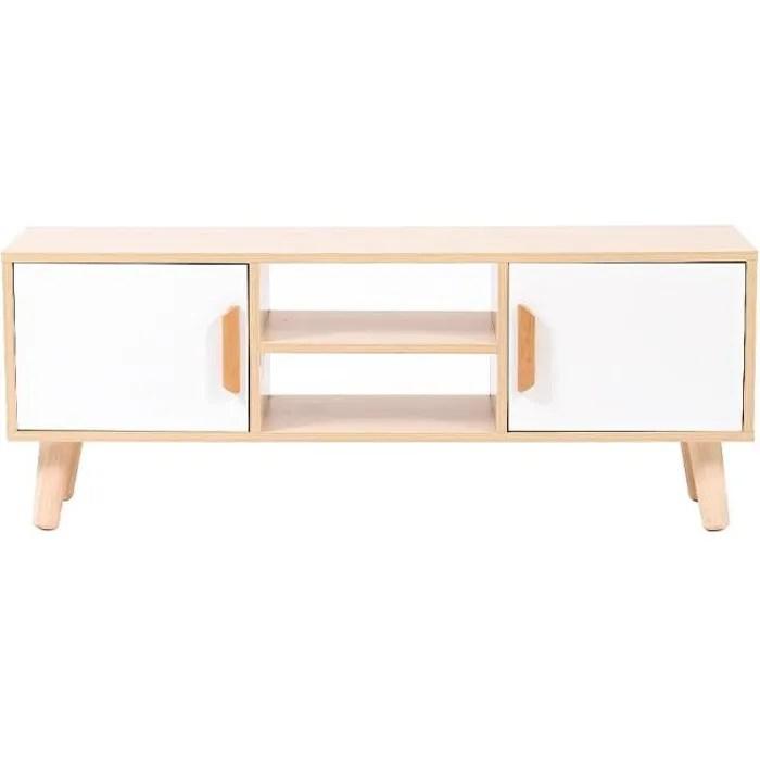 meuble tv 110 cm