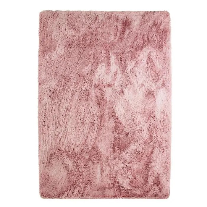 tapis rose poudre
