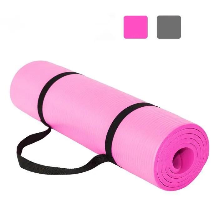 tapis de yoga et fitness extra epais 10 mm 15 m