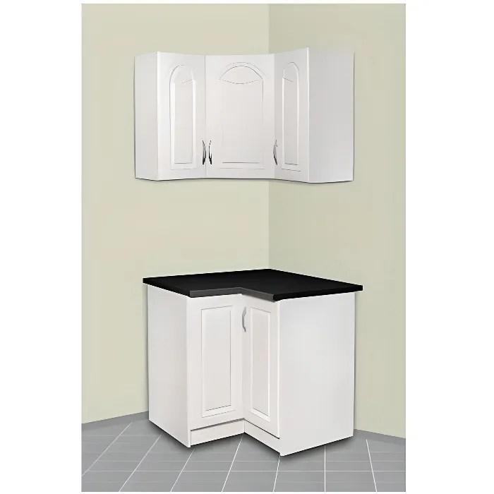 meuble de cuisine d angle haut et bas dina