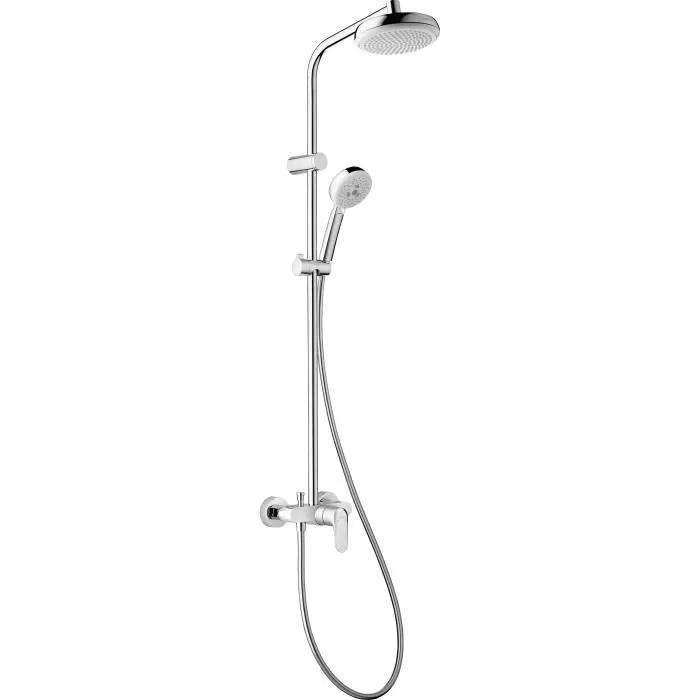 hansgrohe colonne de douche avec robinet mitigeur