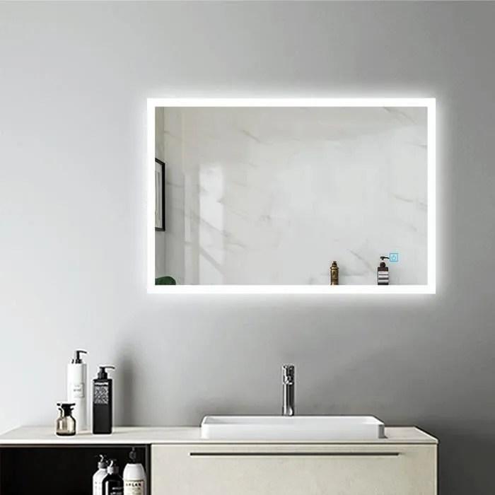 Miroir De Salle De Bain Avec Eclairage Achat Vente Miroir De Salle De Bain Avec Eclairage Pas Cher Soldes Sur Cdiscount Des Le 20 Janvier Cdiscount