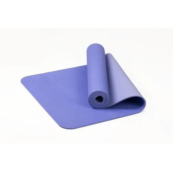 tapis de yoga grand tapis de gym epais rembourre p