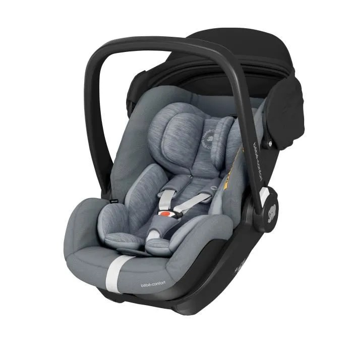 bebe confort siege auto marble cosi inclinable i size groupe 0 de la naissance a 12 mois 40 85 cm essential grey