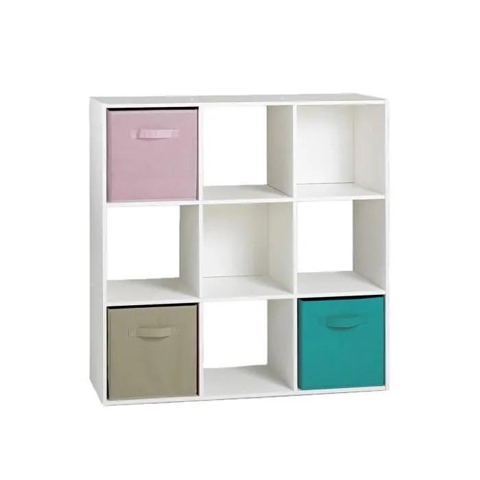 compo meuble de rangement contemporain blanc mat