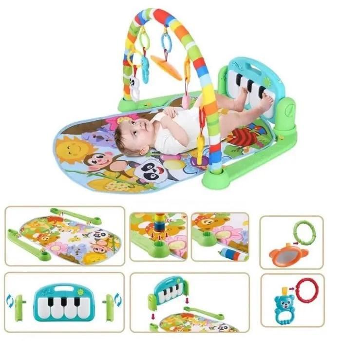 tapis d eveil piano a pedale pour bebe avec musiqu