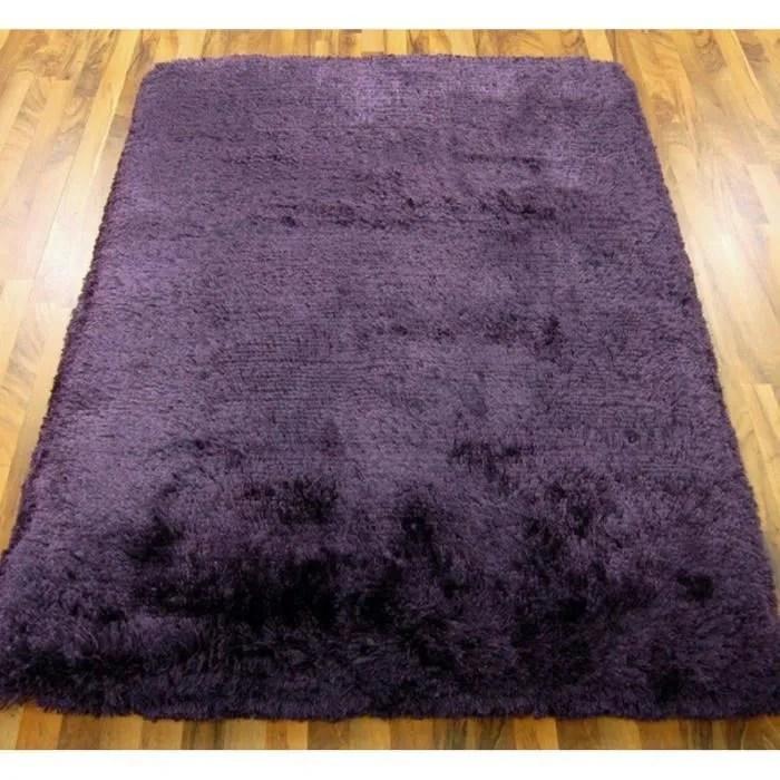 tapis salon 200x300 violet
