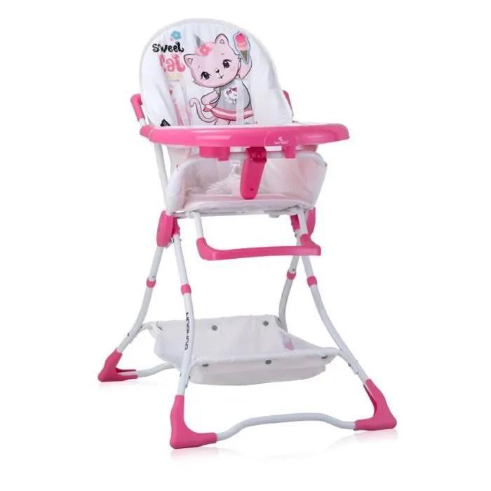 chaise haute pour bebe bonbon lorelli
