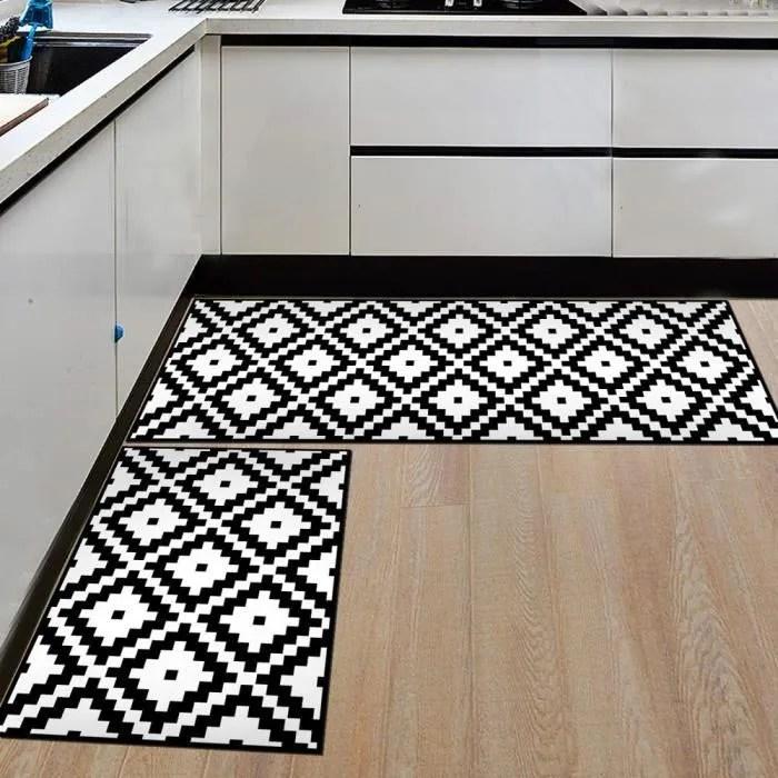 style 4 tapis de sol de cuisine moderne confortab
