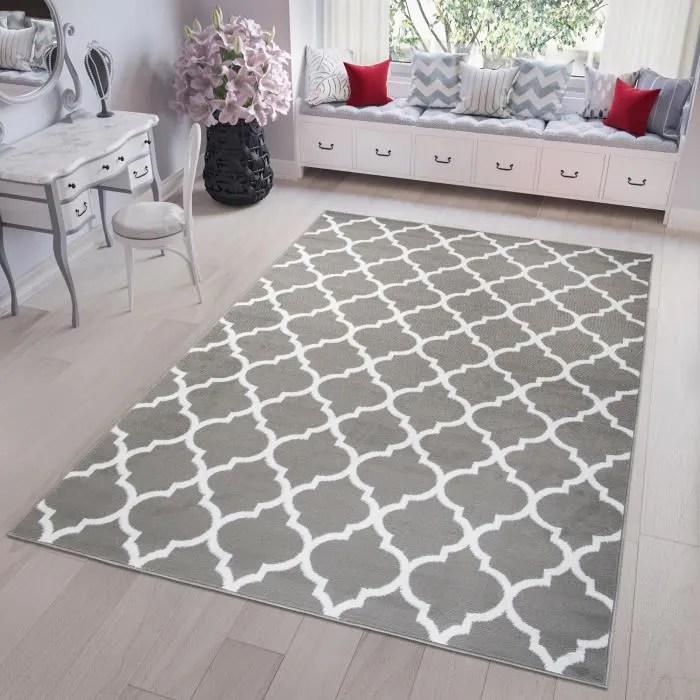 tapiso fire tapis de salon chambre ado moderne mar