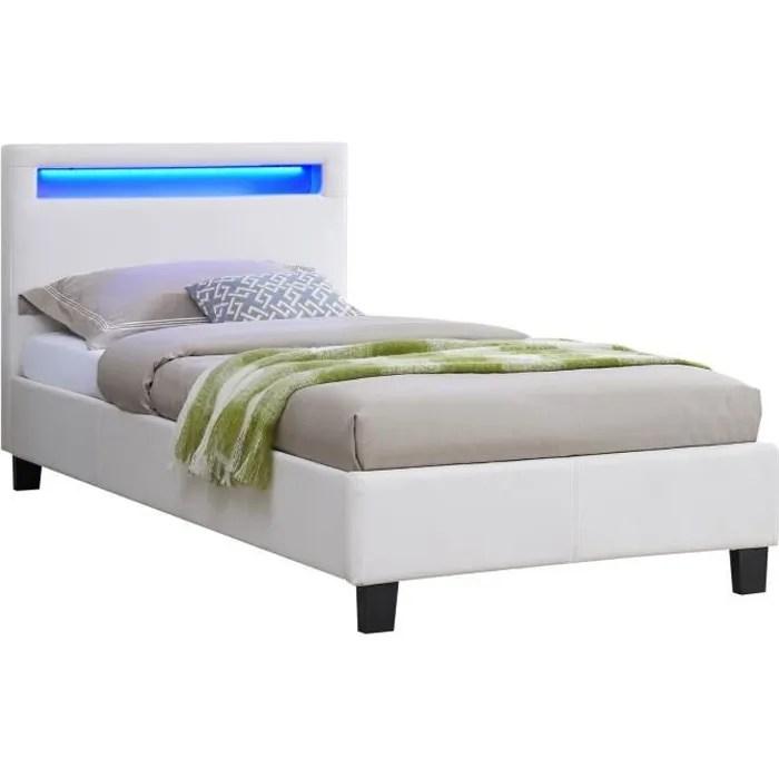 lit simple pour adulte ou enfant luceno
