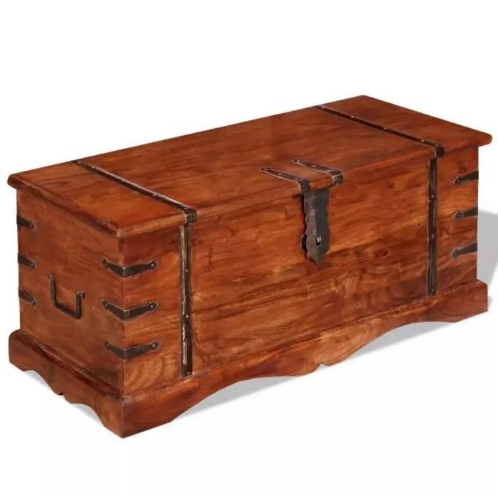 coffre de rangementcanape pouf malle de rangement bois massif