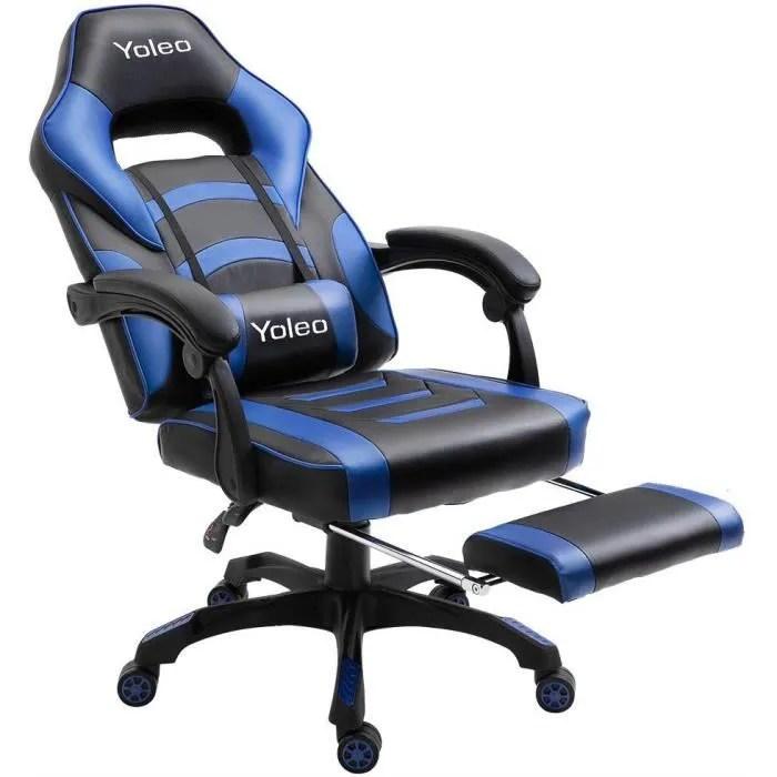 chaise de bureau fauteuil de jeu avec
