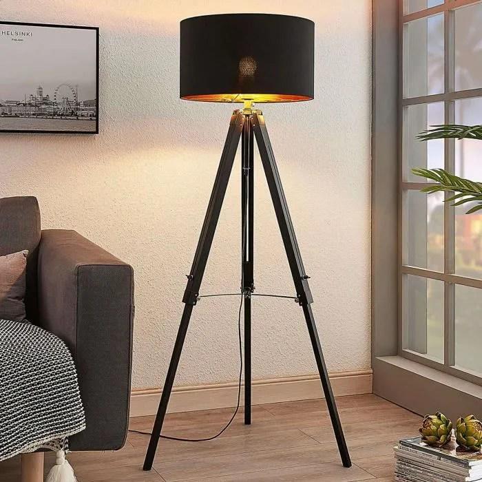 lampadaire bois triac en bois pour salon salle a manger