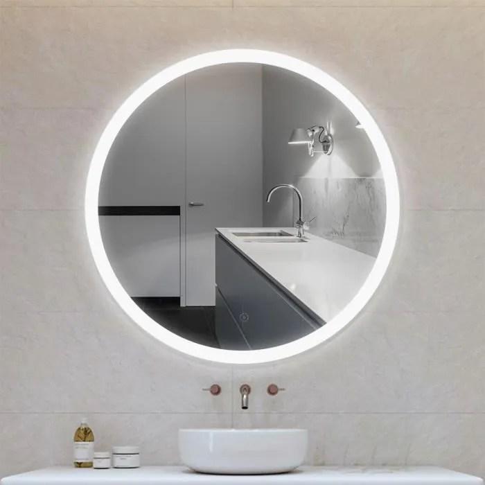 Miroir Salle De Bain 100 Cm Achat Vente Pas Cher