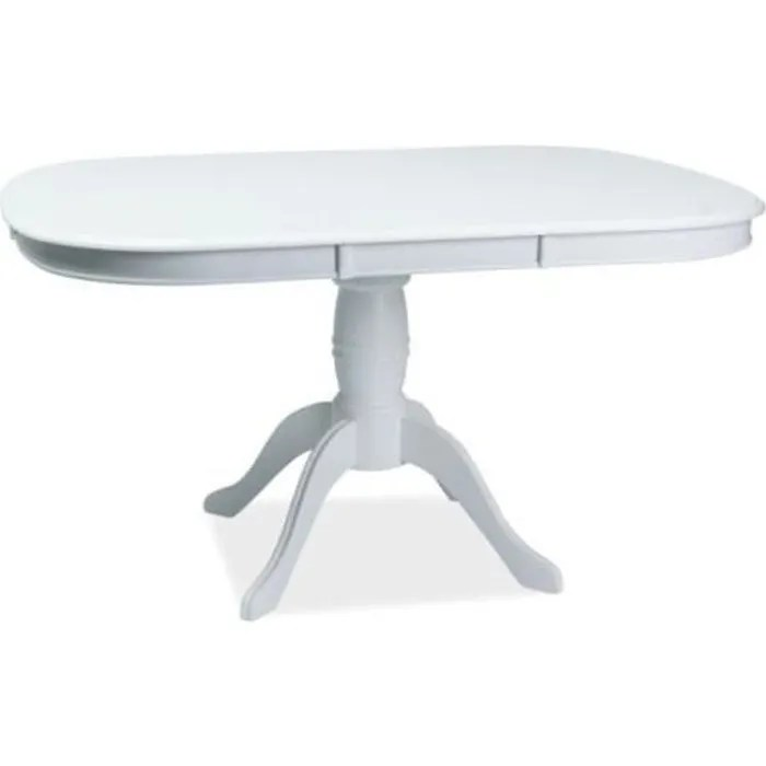 table ovale extensible bois