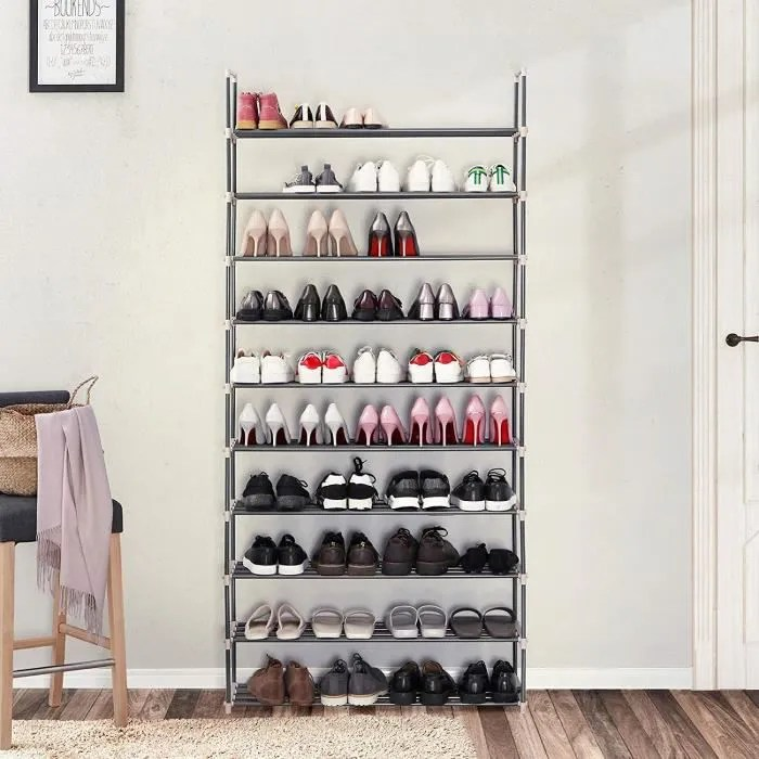 etagere a chaussures 50 paires