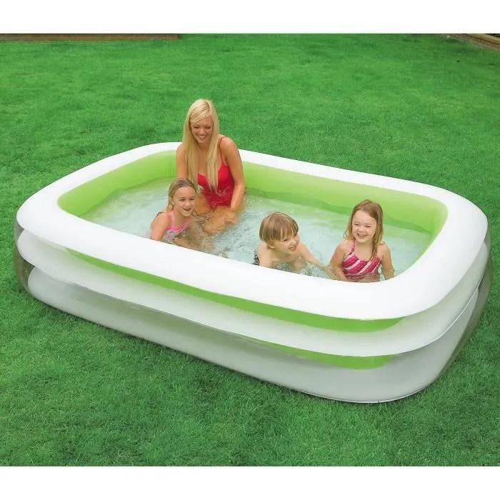 intex piscine gonflable rectangulaire pour la fami