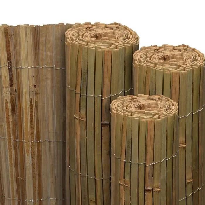 brise canisse bambou
