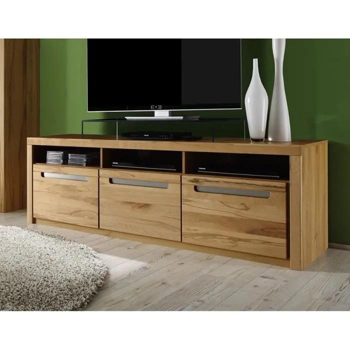 meuble tv bois clair moderne dinozo 2 l