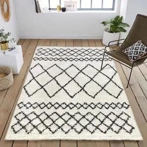 tapis de salon cdiscount maison