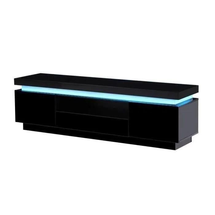 flash meuble tv avec led contemporain