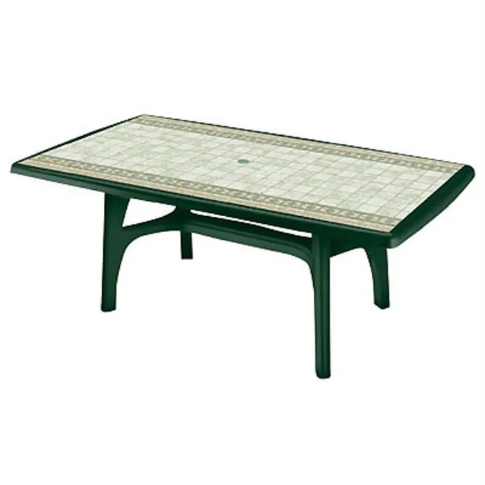 table rectangulaire en resine oleron
