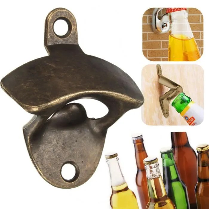 tempsa bronze mural decapsuleur ouvre bouteille opener biere