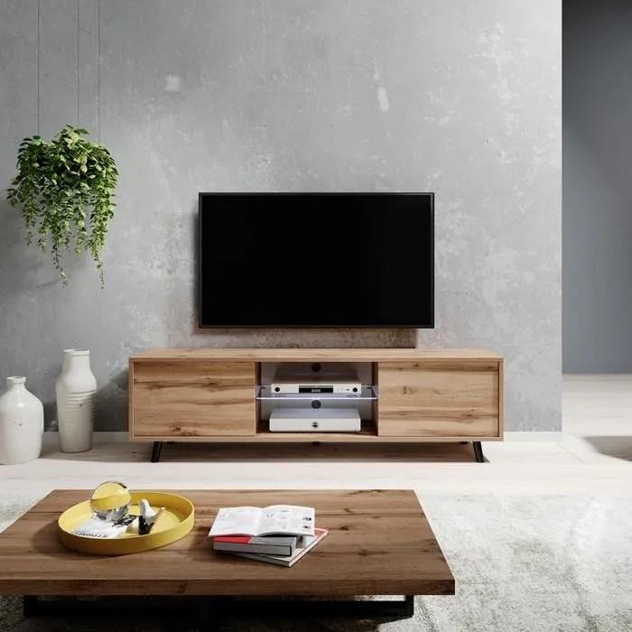 meuble tv meuble de salon lefyr 140 cm che