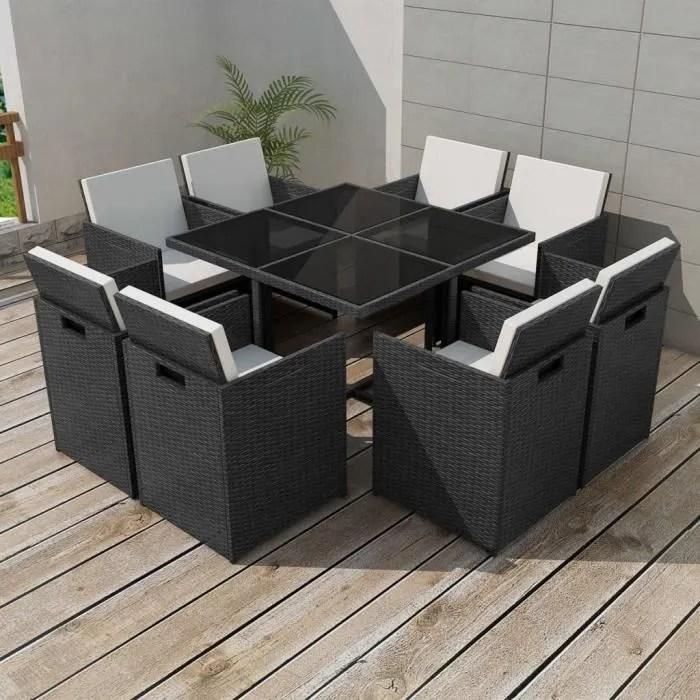 ensemble de mobilier de jardin 25