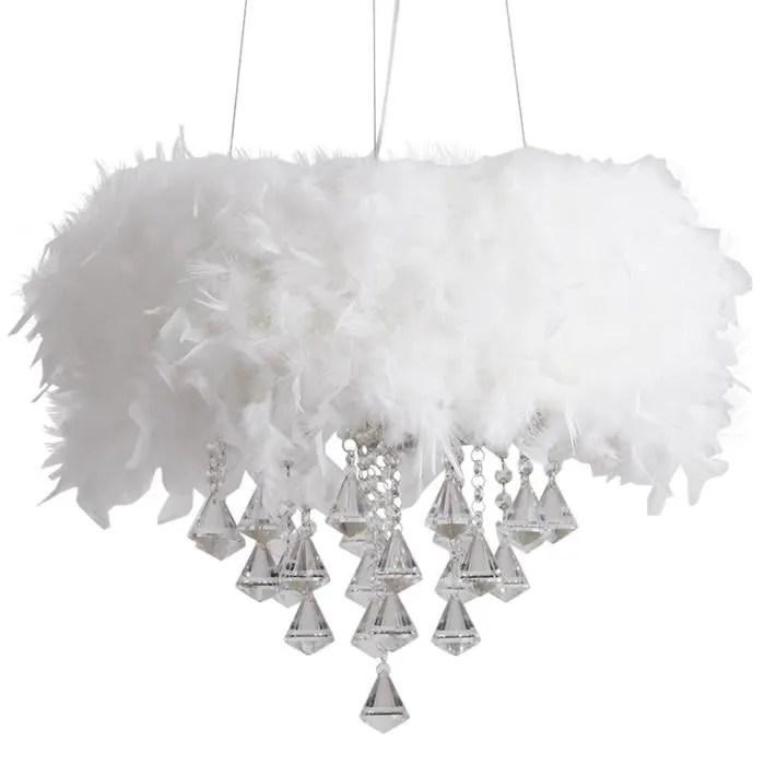 lampe suspension plafonnier enfant lustre crisital