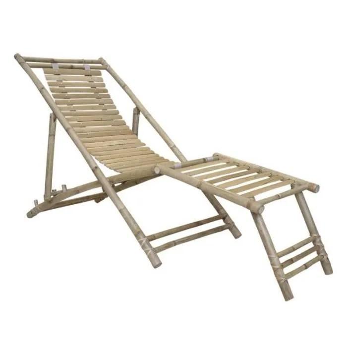 fauteuil bain de soleil siege de jardin transat ba