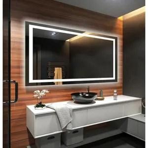 miroir salle de bain 80x100cm eclairage a part