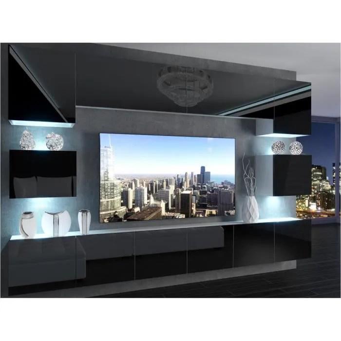 klari ensemble meubles tv led unite murale s