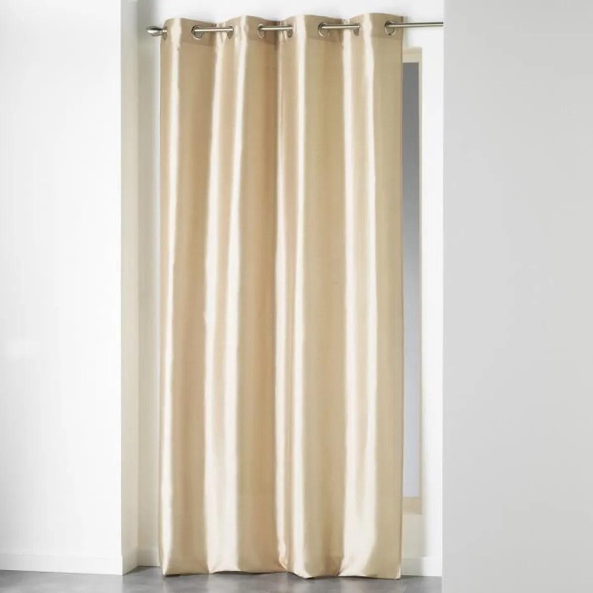 rideaux lin a oeillets 140x240